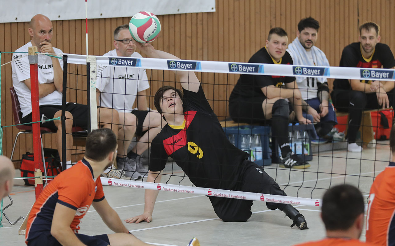 Lukas Schiwy, Sitzvolleyballer in der Deutschen Nationalmannschaft